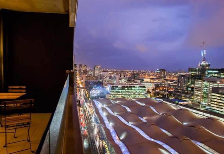 Southern Cross Serviced Apartments, Melbourne, Two Bedroom Apartment, Balcony