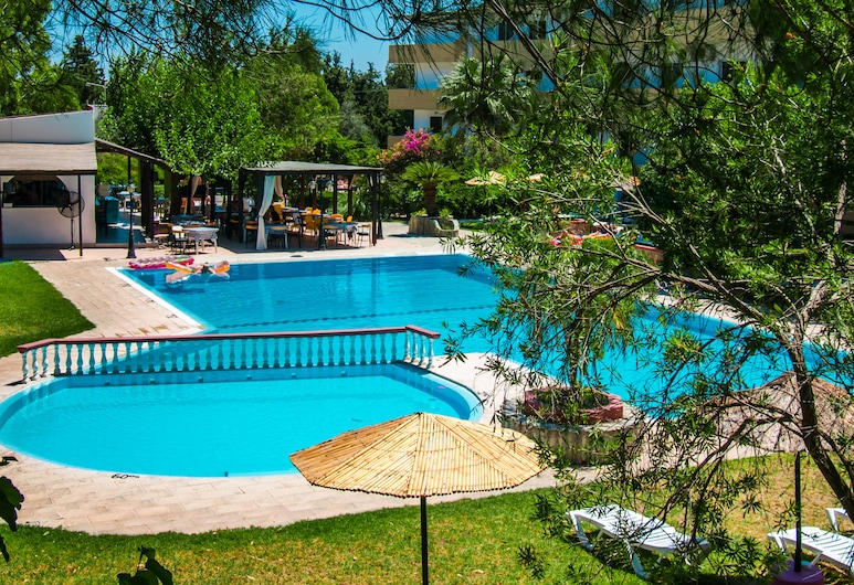 Achousa Hotel, Rodas, Alberca