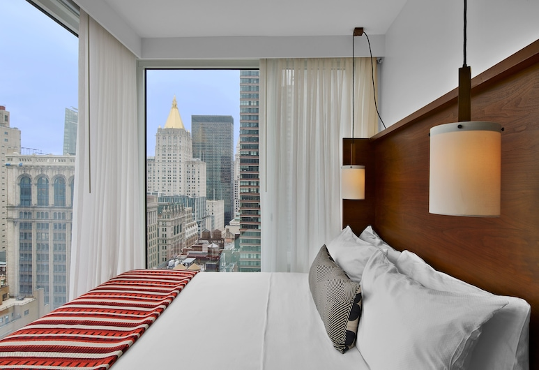 Arlo NoMad, Nova York, Quarto, 1 cama King (City), Quarto