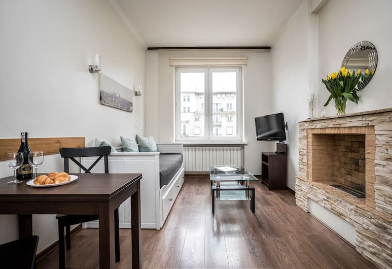 Apartamenty Wawa Centrum by Your Freedom, Warsaw, City Apartment, 2 Bedrooms, Kitchenette, City View, Living Room