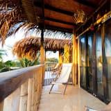Poilsio namelis, balkonas (Suite Delfin) - Balkonas