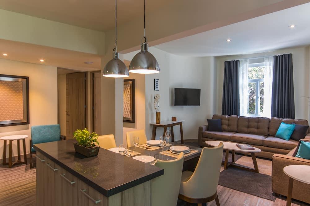 Luxusní apartmá - Obývací prostor