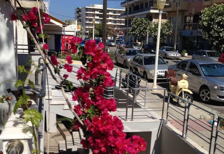 Zefyros Hotel, Rodosz, Kilátás a hotelből