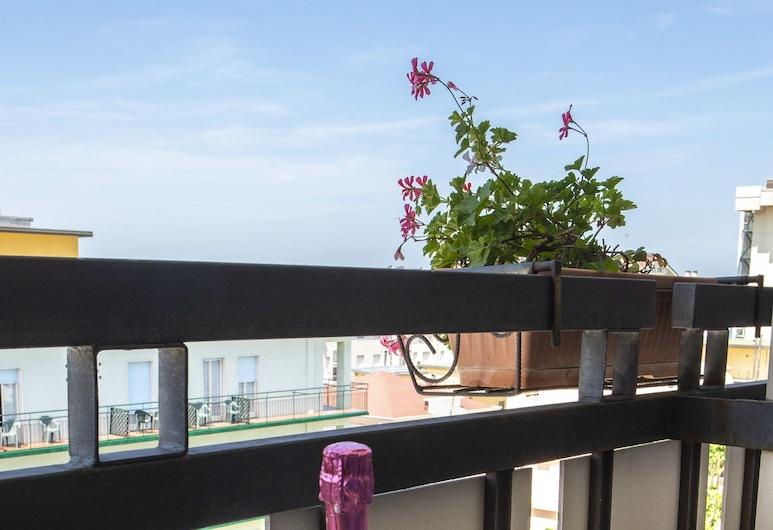 Hotel Miramare et de la Ville, Rimini, Double or Twin Room, Balcony, Balcony