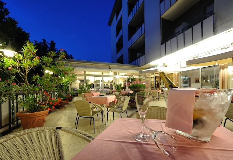 Hotel Miramare et de la Ville, Rimini, Terasa