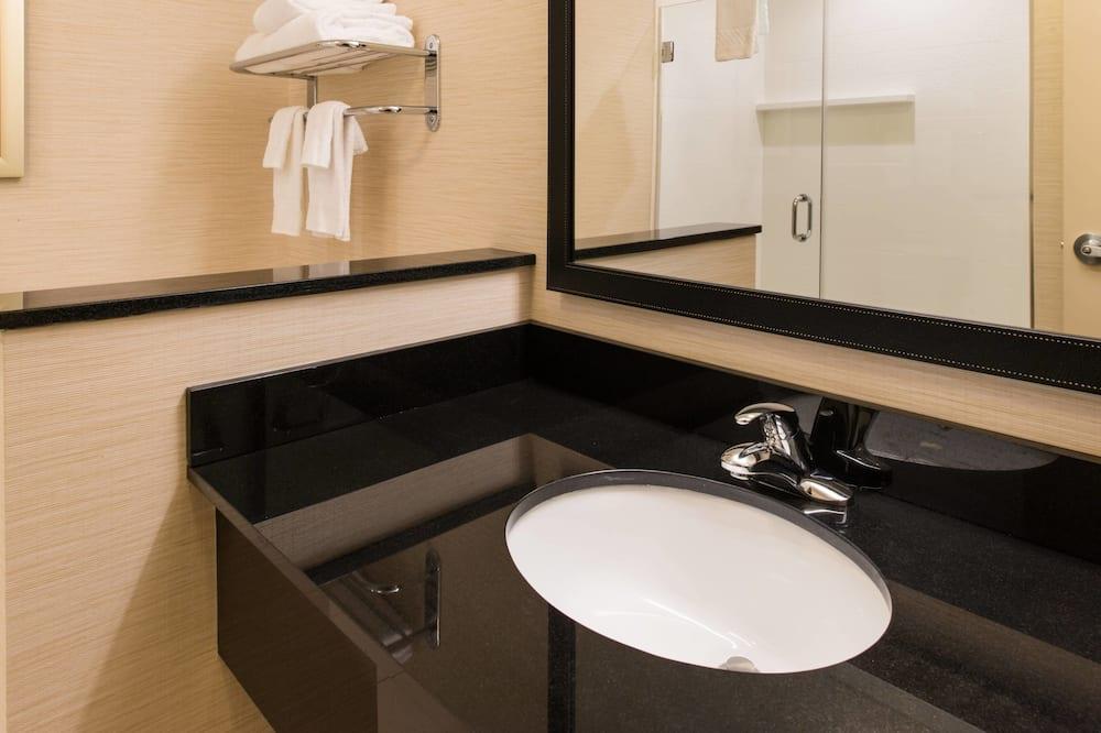 חדר, 2 מיטות קווין, ללא עישון - חדר רחצה
