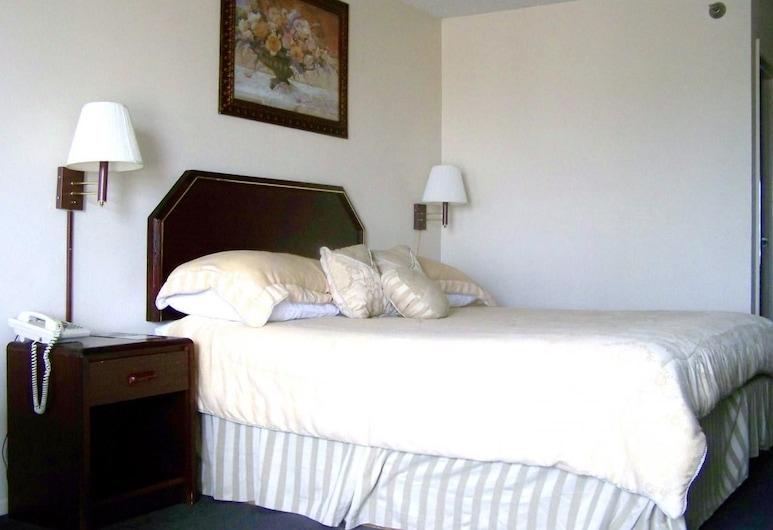 Courtesy Inn & Suites, Мэнсфилд, Одноместный номер, холодильник и микроволновая печь, Номер