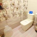 Standaard kamer, 1 twee- of 2 eenpersoonsbedden, 1 tweepersoonsbed, privébadkamer - Badkamer