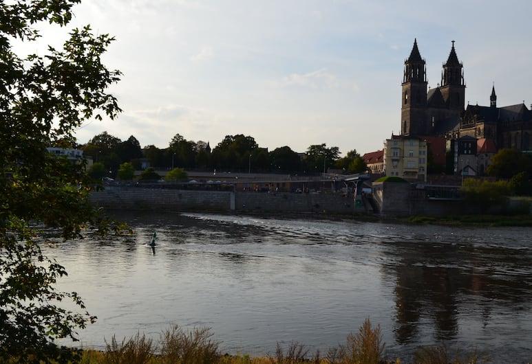 City-Pension Magdeburg, Magdeburg, Widok lotniczy