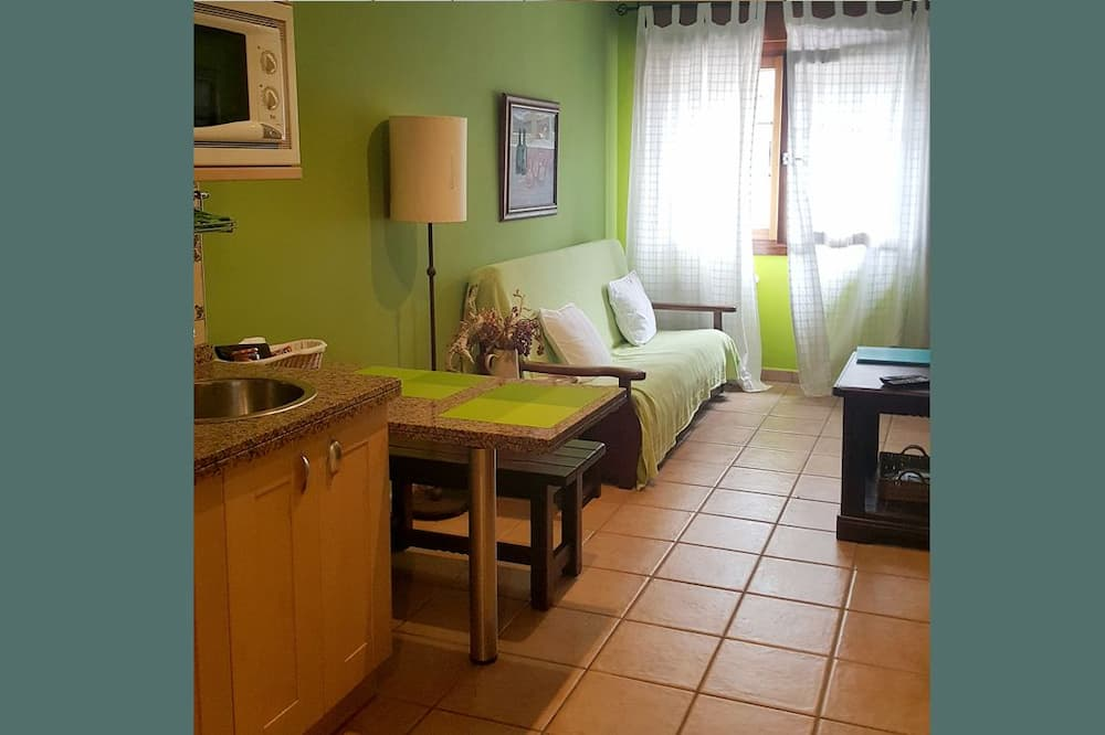 Standard Διαμέρισμα, 1 Υπνοδωμάτιο, Θέα στο Βουνό - Περιοχή καθιστικού