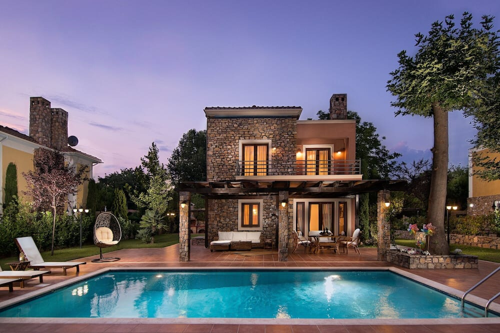 Villa (Aktaia) - Outdoor Pool
