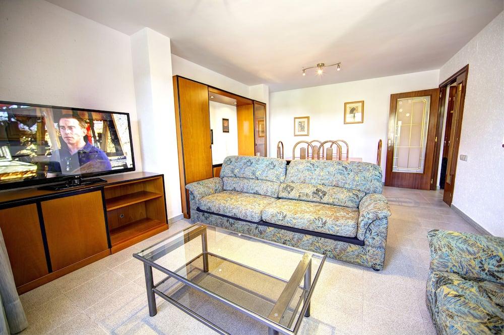 Economy-lejlighed - 4 soveværelser - Opholdsområde