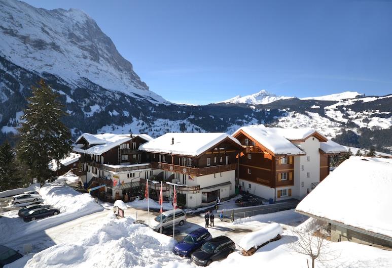 Hotel Caprice, Grindelwald, Průčelí hotelu