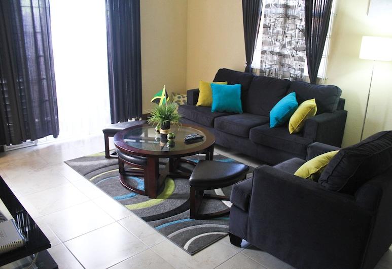 Eclipse Suite Guest Apartments, Kingston, Standardní apartmán, 1 ložnice, výhled na město, přízemí, Pokoj