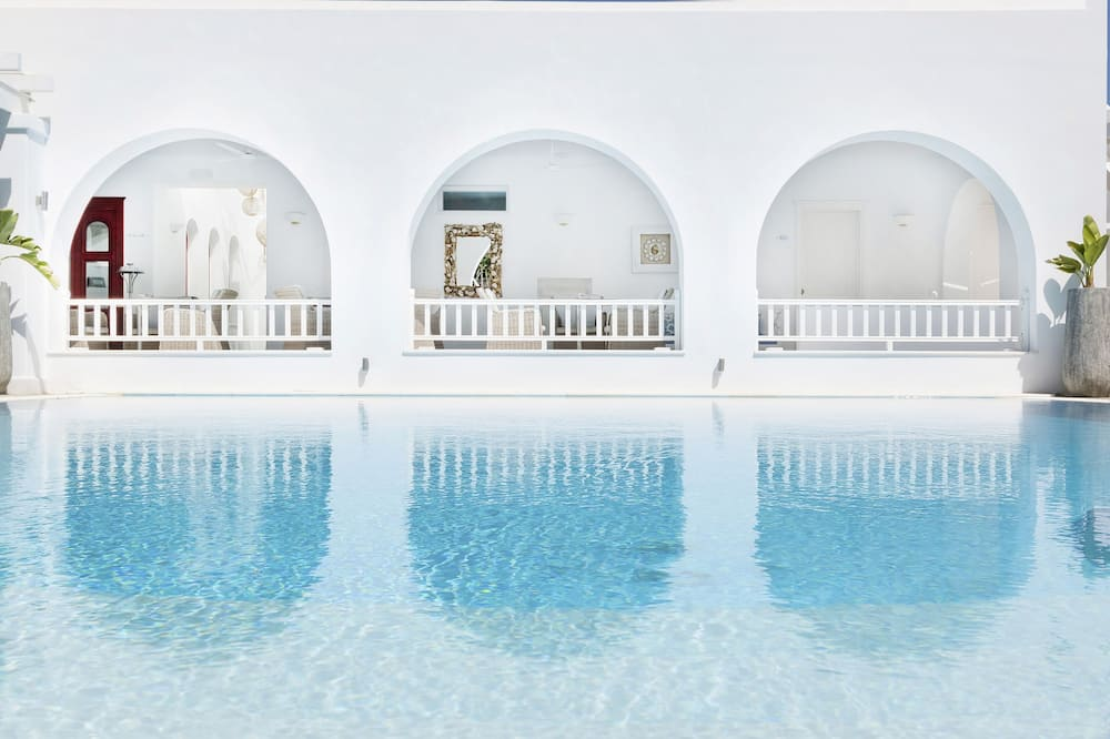 Suite junior, vista a la piscina - Vista de la habitación
