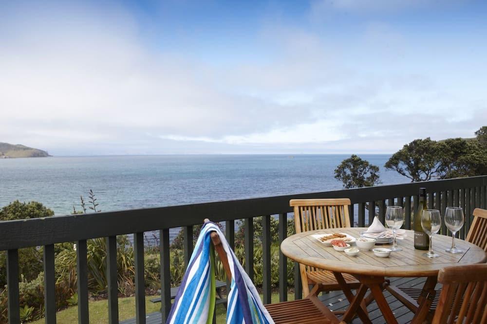 Premium Apart Daire, 2 Yatak Odası, Deniz Manzaralı (Unit 1) - Balkon