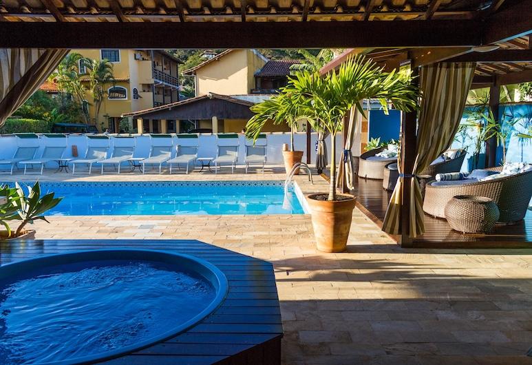 Búzios Centro Hotel, Buzios, Εξωτερική μπανιέρα υδρομασάζ