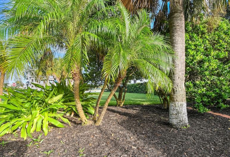 Tequesta Palms Inn, Jupiter, Jardín