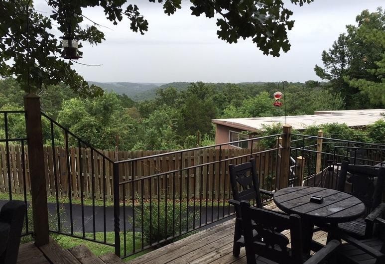 Country Mountain Inn, Eureka Springs, Terasa