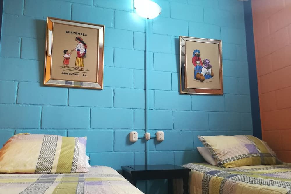 더블룸, 싱글침대 2개, 전용 욕실 - 객실