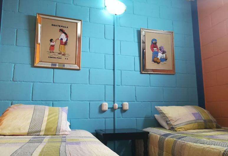Hostal Guatefriend's - Hostel, Bandar Raya Guatemala, Double Room, 2 Katil Bujang (Single), Private Bathroom, Bilik Tamu
