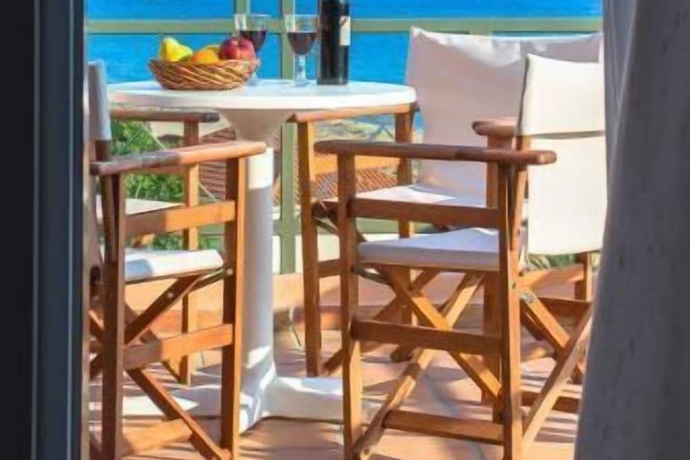Četrvietīgs numurs, skats uz jūru - Balkons