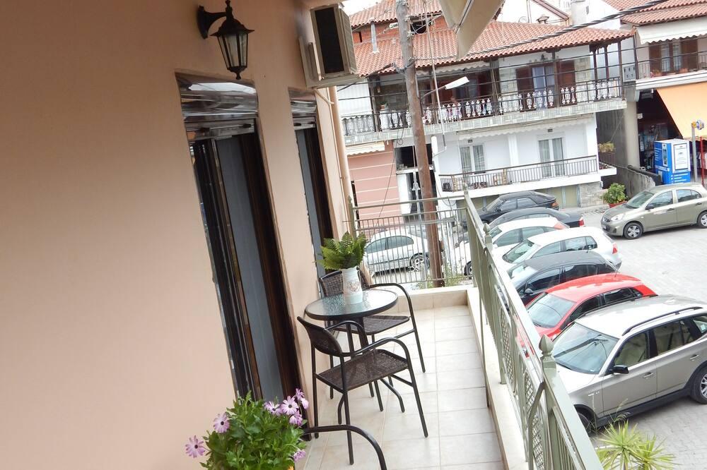 Dizajnerski studio apartman - Balkon