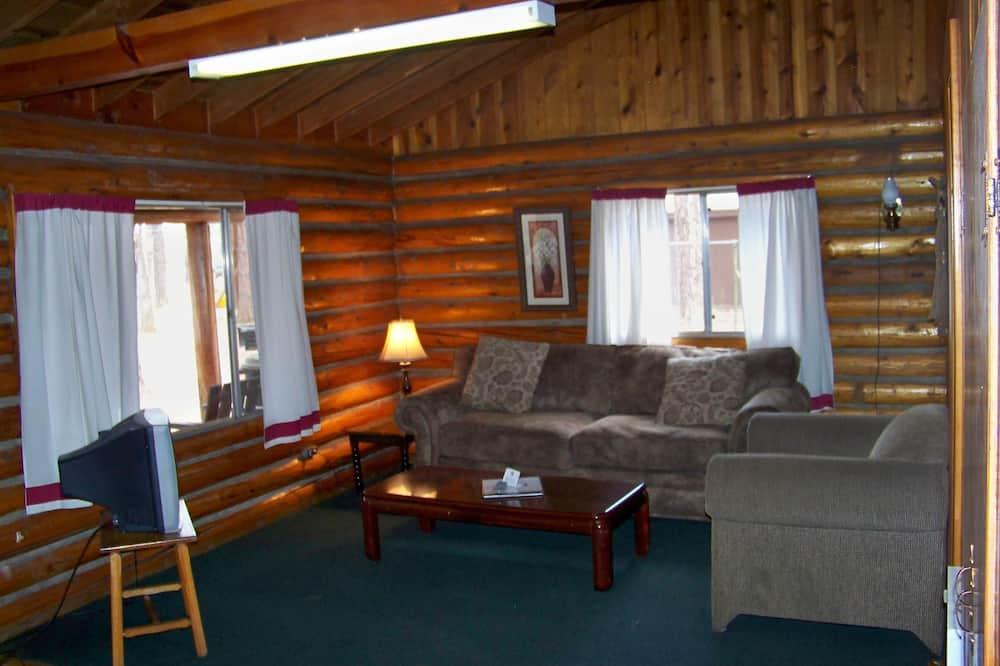 小屋, 1 間臥室 (Cabin 10 - Duplex with cabin 11) - 客廳