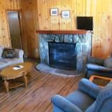 Cabane, 1 chambre, pas de vue (Juniper) - Salle de séjour