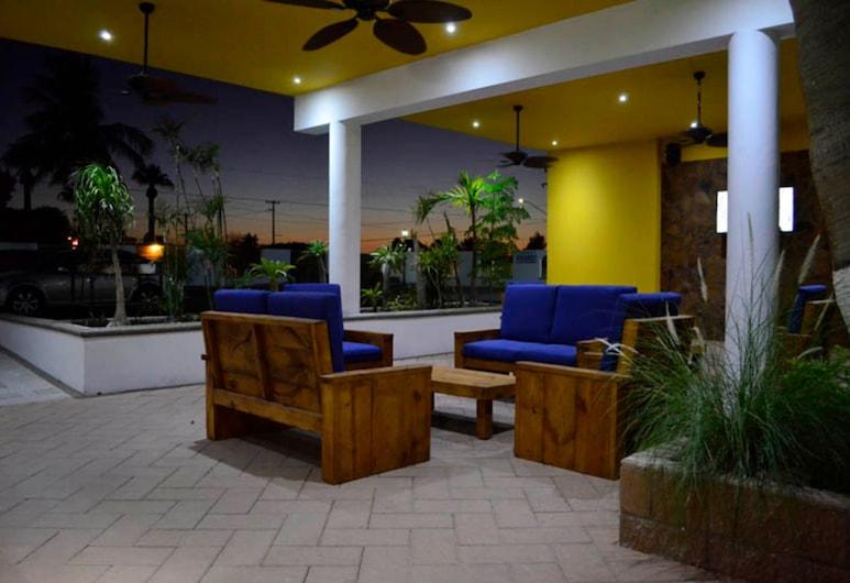 Eco Bay Hotel y Restaurant, Bahía de Kino, Terraza o patio