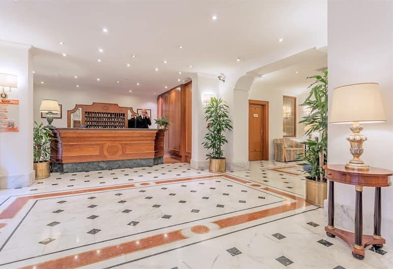 Raeli Hotel Luce, Roma, Reception