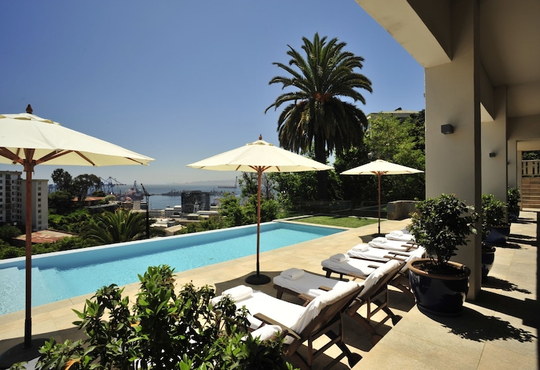 Casa Higueras, Valparaíso, Udendørs pool
