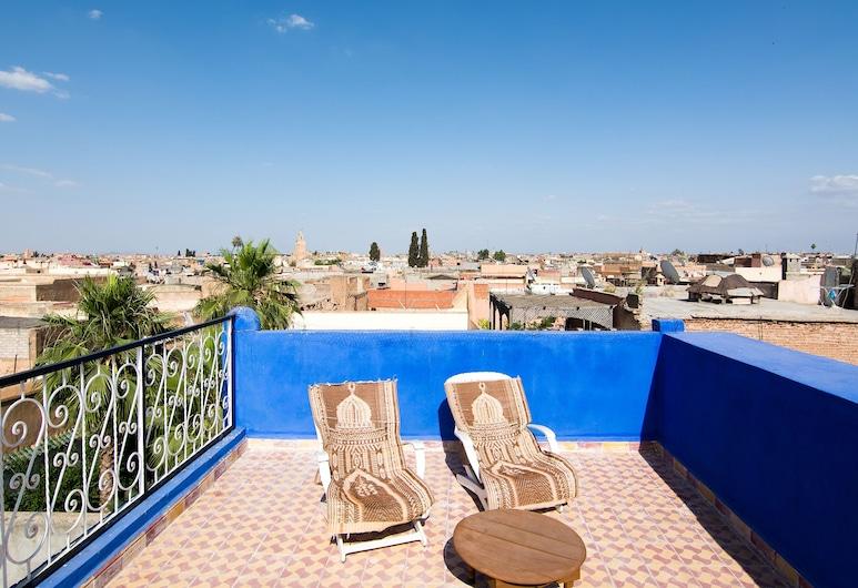 Riad Losra, Marrakech, Sân thượng/sân hiên