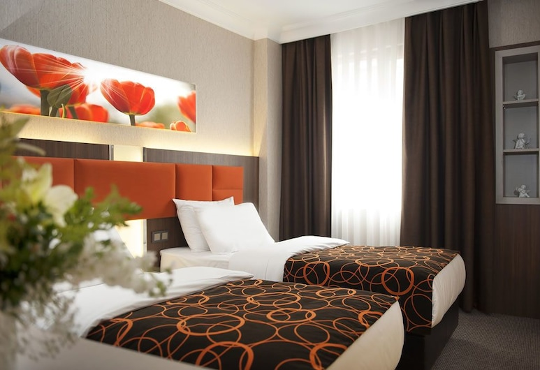 Hotel Birbey, Istanbul, Standard Double or Twin Room, Guest Room