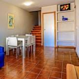 Appartement Duplex, 2 chambres, terrasse, vue mer - Coin séjour