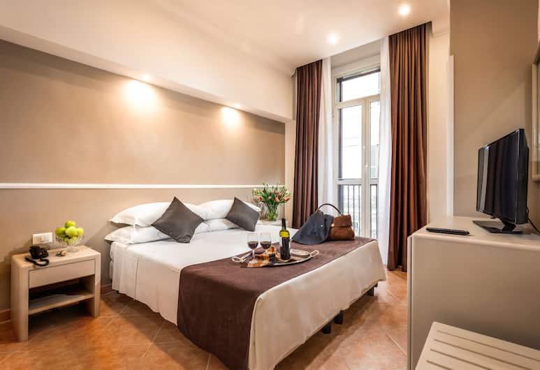 錫拉庫扎雷利酒店, 羅馬, 客房