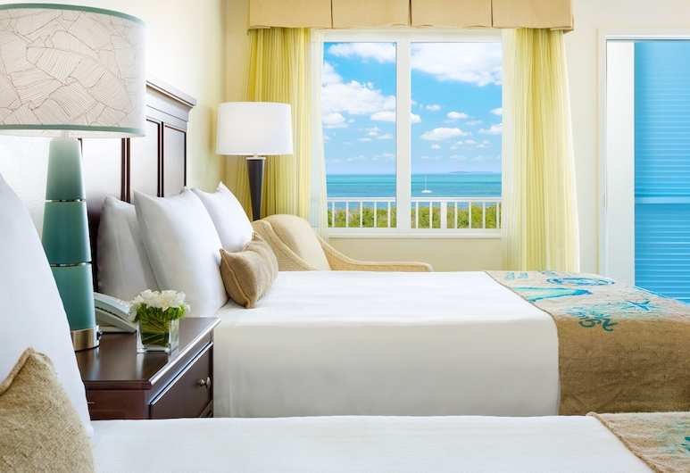 24 North Hotel Key West, Key West, Pokoj typu Premium, 2 dvojlůžka (180 cm), orientovaný směrem k oceánu, Pokoj