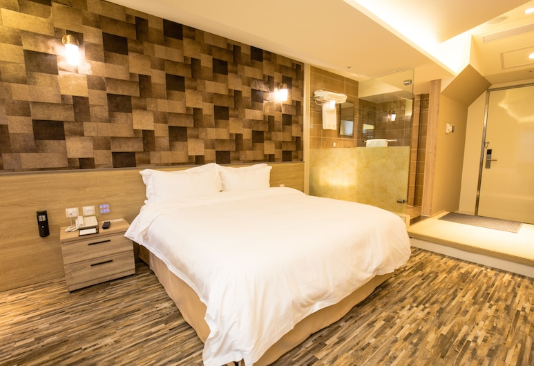 Walker Hotel Ximen, Taipei, Superior Double Room (Extreme Sassy), Guest Room