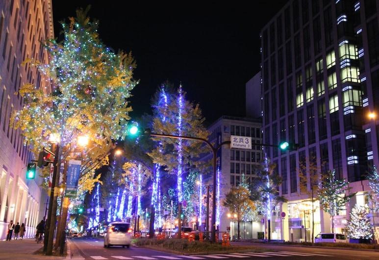 Osaka Guesthouse HIVE - Hostel, Osaka, Výhľad z hotela