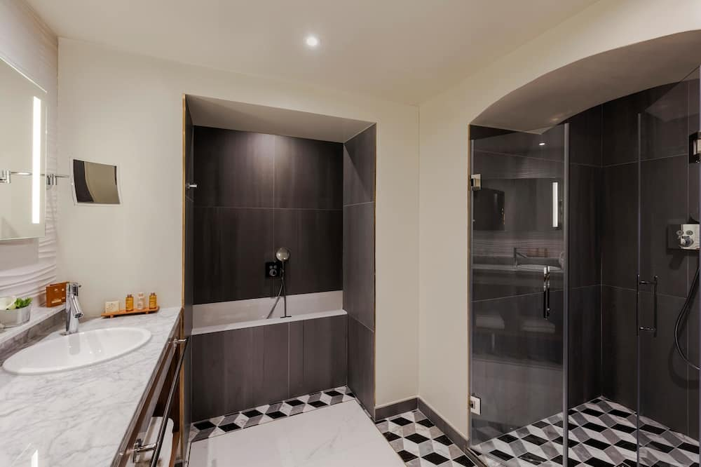 普通套房, 1 張特大雙人床, 非吸煙房 (Twin bed on request) - 浴室
