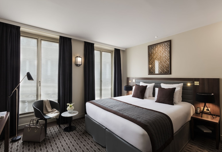 Best Western Premier Kapital Opera, Paris, Deluxe Room, 1 King Bed, Non Smoking, Guest Room