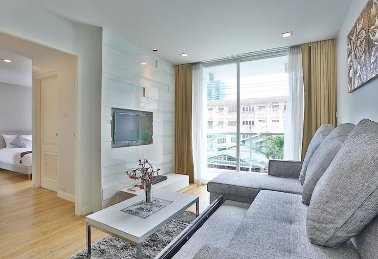 United Residence, Bankokas, Numeris, 1 miegamasis, Svetainės zona