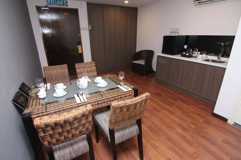 Executive Family Suite, 2 Bedrooms, 1 Bathroom - Dnevni boravak