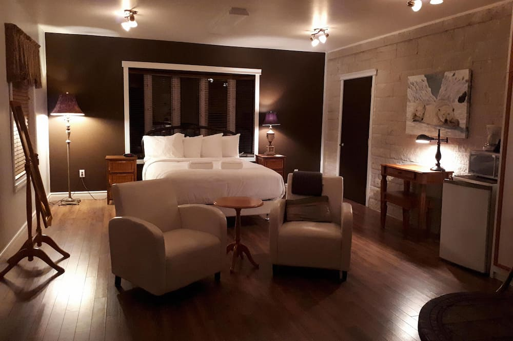 Suite Deluxe, 1 grand lit, vue fleuve - Chambre