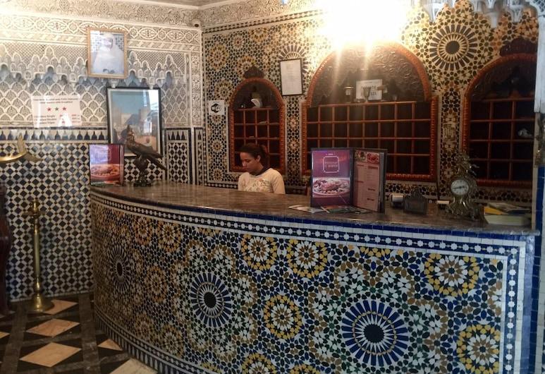 Hotel Al Mamoun, Casablanca, Rezeption