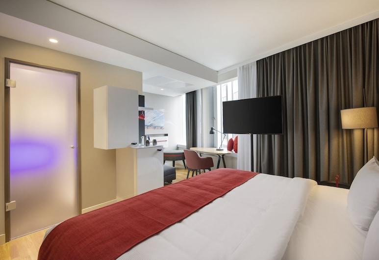 Holiday Inn Hamburg - City Nord, Hamburg, Zimmer, barrierefrei, Nichtraucher (Roll In Shwr), Zimmer