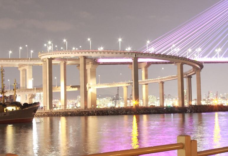 橙色旅館 - 青年旅舍, 釜山, 水岸景