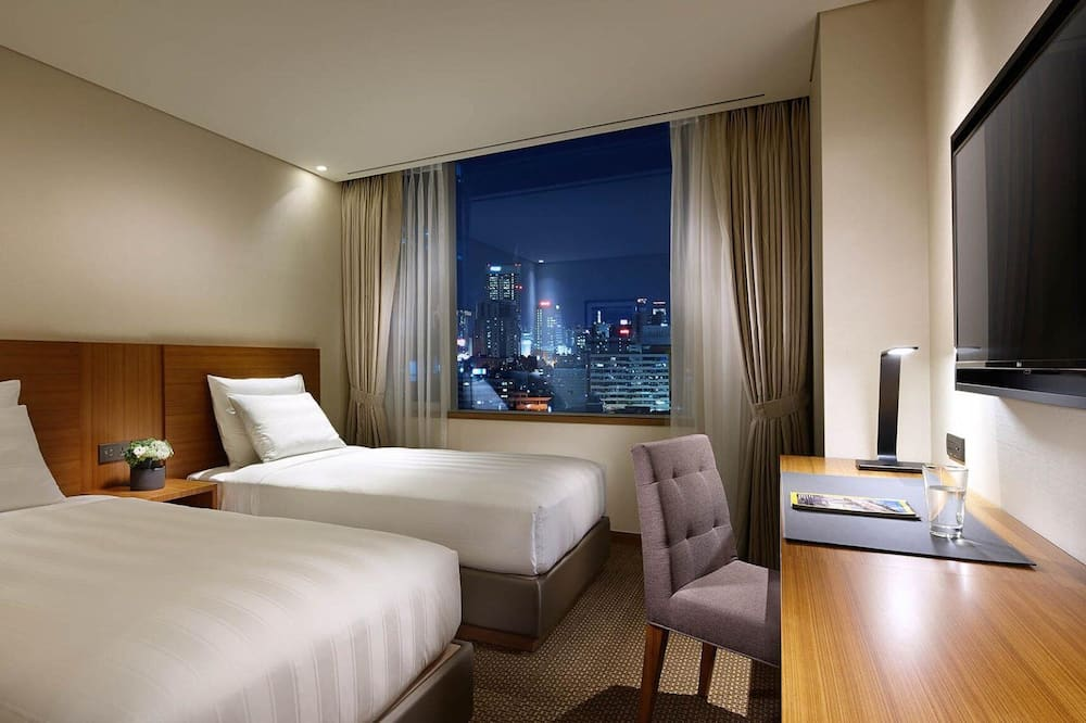 高級雙床房 (Summer PKG: Angel Bingsu + 1 PM C/O) - 城市景觀