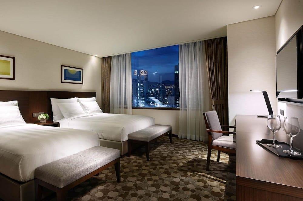 家庭雙床房 (Deluxe) - 城市景觀