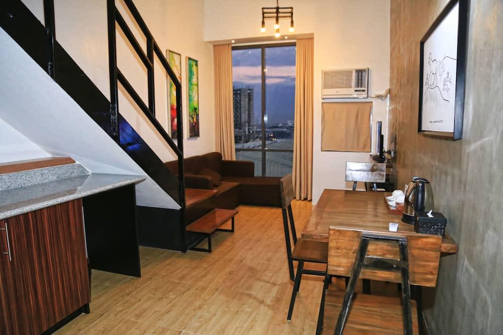Penthouse (Loft) - Woonruimte